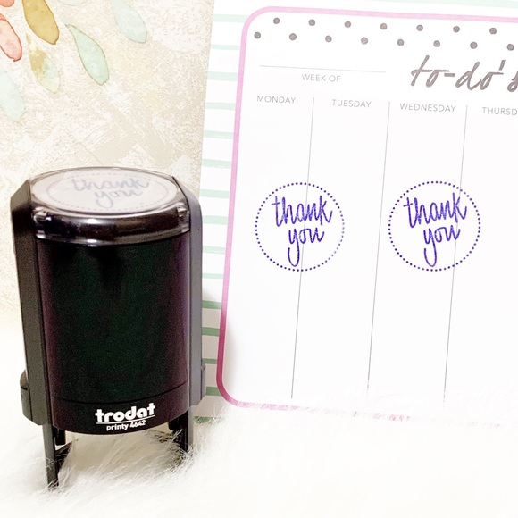 """Trodat Other - """"Thank You"""" Self Inking Stamp"""